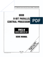 Intel 8008 Users Manual