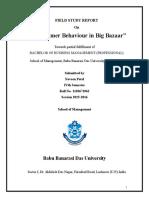 BBM (P) Field Study Report Sample