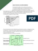 Diagrama de Fases de Los Hidrocarburos