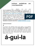 Cómo acentuar palabras en español correctamente.docx