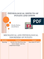 Physiological Defects of Potato and Onion (2)