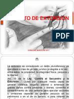 presentación DELITO DE EXTORSIÓN.ppt