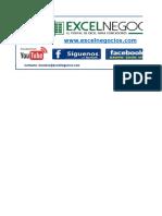 Calculo Determinacion Renta de Cuarta Quinta Categoria en Excel 2016
