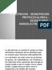 Desnutricion - Desnutricion Proteicocalorica – Desiquilibrio Hidroelectrolitrico (1)