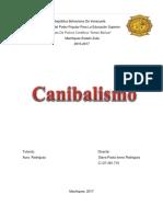 El Canibalismo