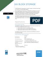 h14377 Emc Vnxe1600 Block Storage System Ss