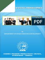 Inhouse Training Book