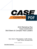 case marketing plan