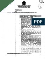 Parecer Proge 038 2012