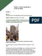 Gilberto Coutinho - Entrevista exclusiva Como é praticada a medicina ayurveda na Índia - part 1, 2 e 3