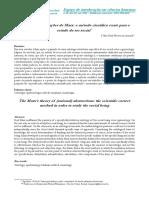 ASSUNÇÃO, Vânia. a Teoria Das Abstrações de Marx, o Método Científico Exato Para o Estudo Do Ser Social