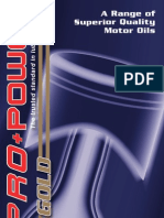 Pro+Power Oil Catalogue