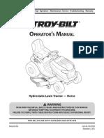 Manual de Podadora Troy-bilt 13wx79kt011