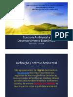 Aula Controle Ambiental e Desenvolvimento Econômico