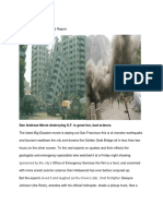 san andreas movie critical report