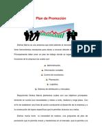 Plan de promoción Disfraz Manía C.A