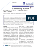 Bioprocess Strateg for Large-scale Prod HMSCs Review - Panchalingham