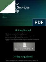 innovative behavior services internship
