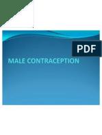 Male Contraception Final