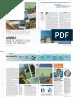 Article sur le bruit - Magazine de la DGAC juin 2010