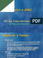 Persistencia (Conexión JDBC)