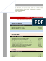 Estruturas - Cargas Totais - Prof Danilo Abreu - Vs222