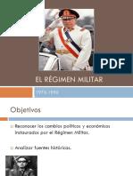 El Régimen Militar