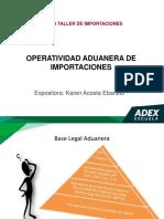 Operatividad Aduanera de Importaciones