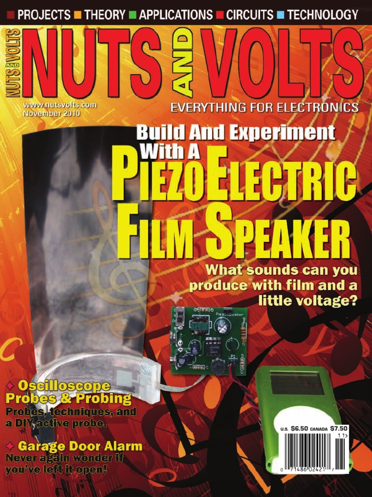 Nuts And Volts 2010 11pdf Pic Microcontroller Manufactured Goods Spdt Relay In Expresspcb