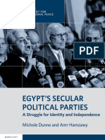Egypt's Secular Political Parties