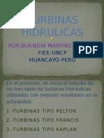 TURBINAS HIDRULICAS
