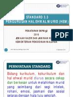 Standard 3.3 Hem
