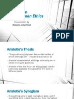 Aristotle on Nicomachean Ethics