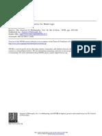 The Journal of Philosophy Volume 76 Issue 6 1979 [Doi 10.2307%2F2025472] Allen Hazen -- Counterpart-Theoretic Semantics for Modal Logic