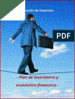 Plan de Inversiones Economico Financiero