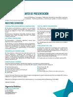 Carta de Presentación Dubica 2016