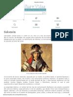 Biografia de Salomón