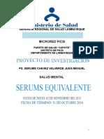 Proyecto de Investigación Juan M. Chavez