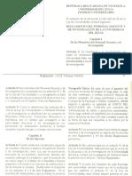 Reglamento Del Personal Docente y de Investigacion de LUZ