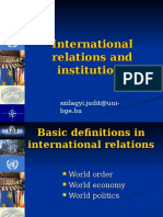 International Relations Of The Middle East Louise Fawcett Pdf