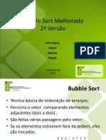 Bubble Sort Melhorado 2
