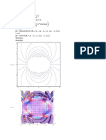 Two potential cyllinder calculation with series and 3d plot