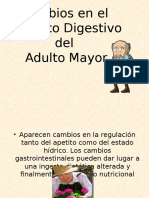 Sistema Dijestivo en El Adulto Mayor Doctor Gregorio Flores