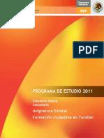 Formación Ciudadana en Yucatán