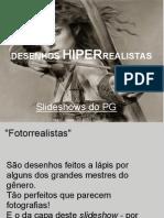 DESENHOS HIPERREALISTAS
