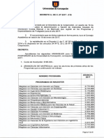 Aranceles 2017 Decreto 2017 015