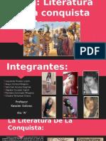 La Literatura de La Conquista