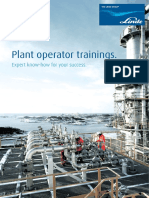 Plant Operator Trainings - Expert Know-how for Your Success