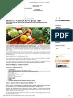Conheça Os Alimentos Ricos Em Ferro