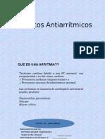 4.1Fármacos Antiarrítmicos